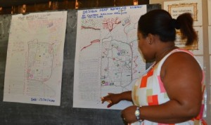 A Permaculture Design Course being conducted in Malawi.